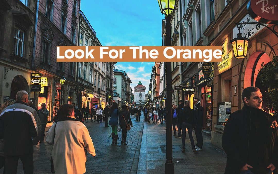 Look For The Orange (Google Maps Travel Hack)